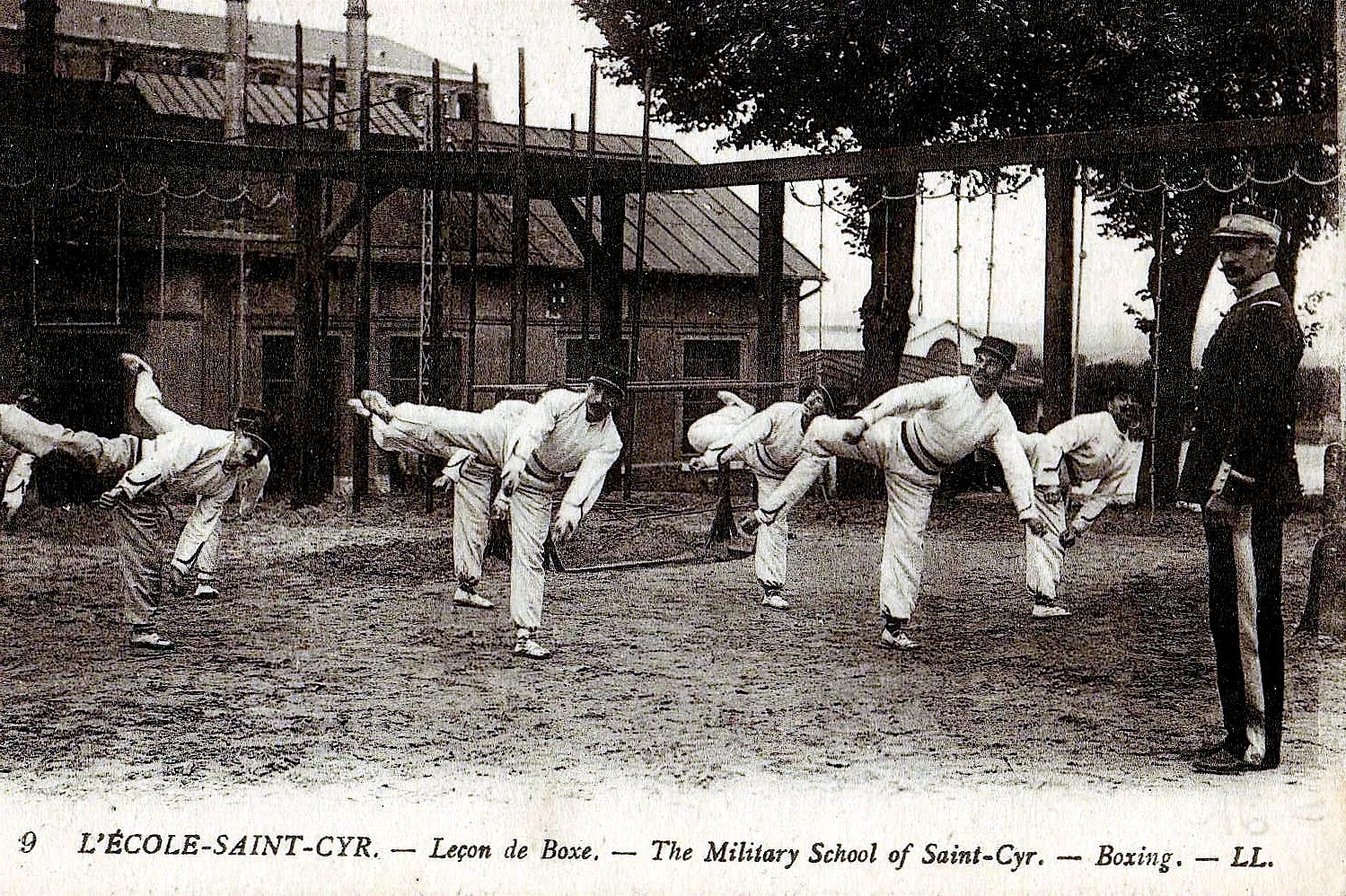 Read more about the article The influence of French gymnastics and military French boxing on the creation of modern Karate (1867-1914)